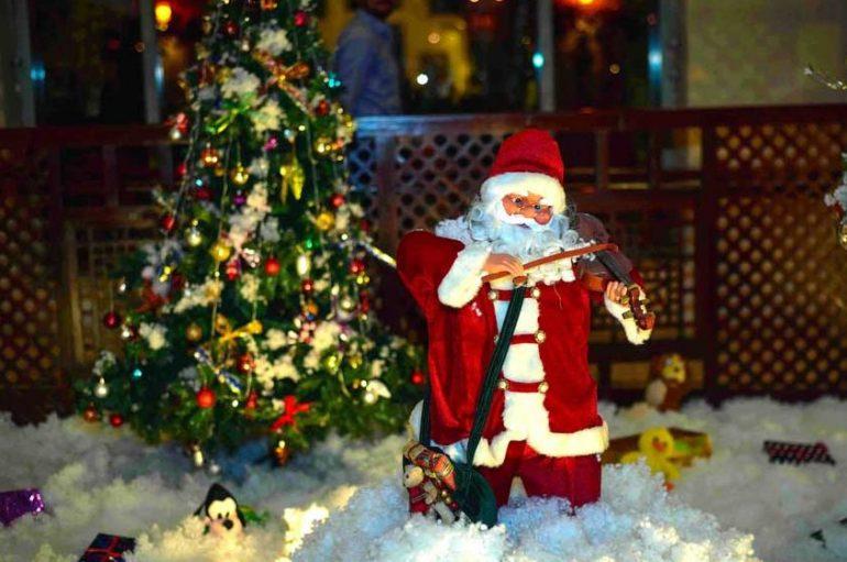 Christmas tree lighting at Serena Hotel – Islamabad